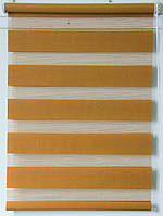 Готовые рулонные шторы Ткань ВМ-1210 Охра