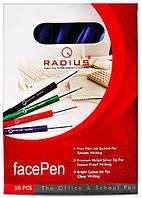"""Ручка  """"Face""""  RADIUS  (красная)"""
