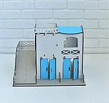 Двухэтажный гараж-парковка NestWood синий, фото 3