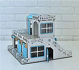 Двухэтажный гараж-парковка NestWood синий, фото 6