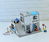 Двухэтажный гараж-парковка NestWood синий, фото 8