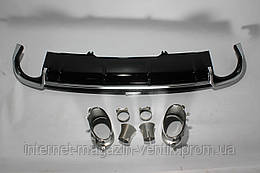 Диффузор заднего бампера Audi RS4 16+ B9
