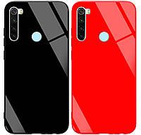 Чехол-накладка TPU+Glass GLOSSY для Xiaomi Redmi Note 8, фото 1