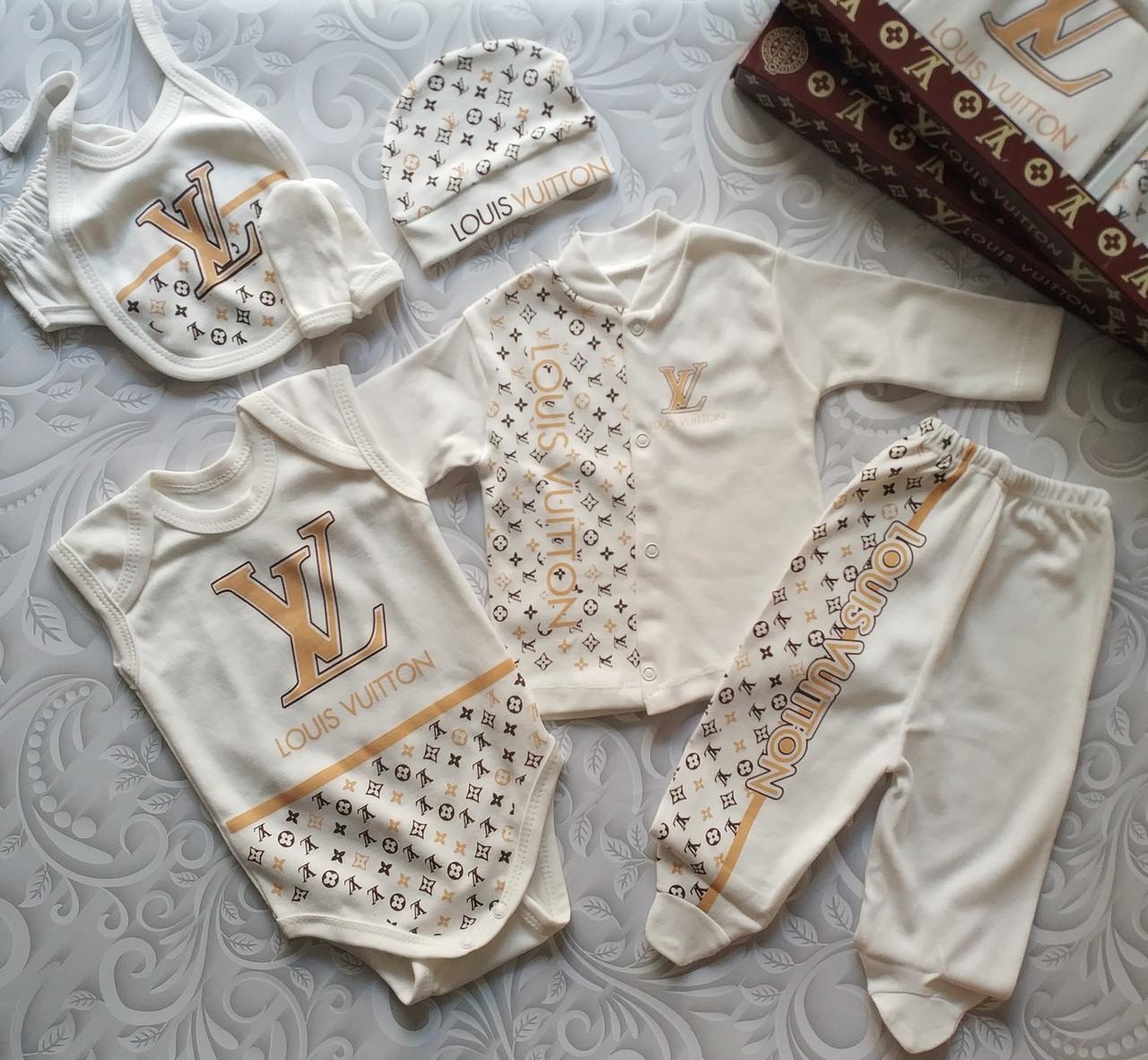 Набор для новорожденного Louis Vuitton , подарочный