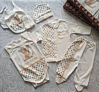 Набор для новорожденного Louis Vuitton , подарочный, фото 1