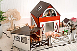 """Кукольный домик - игровой набор """"ФЕРМА"""" NestWood (комплектация MAXI), фото 5"""