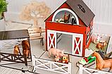 """Кукольный домик - игровой набор """"ФЕРМА"""" NestWood (комплектация MAXI), фото 8"""