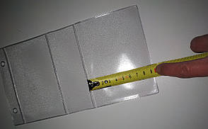 Подвесной ценникодержатель. Двойные ценникодержатели. 230*125 мм, фото 3