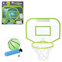 Баскетбольное кольцо M 5715  щит30-22см