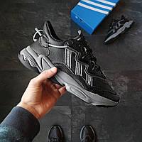 Мужские кроссовки Adidas, КОЖА (ТОП-реплика)