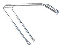 Багажник для класического велосипеда (серебро)