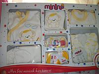 Костюм на выписку Minino 0-3 месяца 9 элементов. Турция! , фото 1