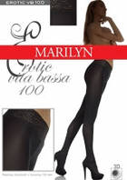 Плотные Колготки Marilyn с заниженной талией Erotic VB100