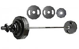 Штанга олимпийская (стальные блины) 73кг Newt NT-4737-73