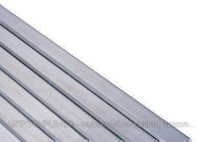 Труба нержавеющая профильная 60х40х2,0 мм AISI 304