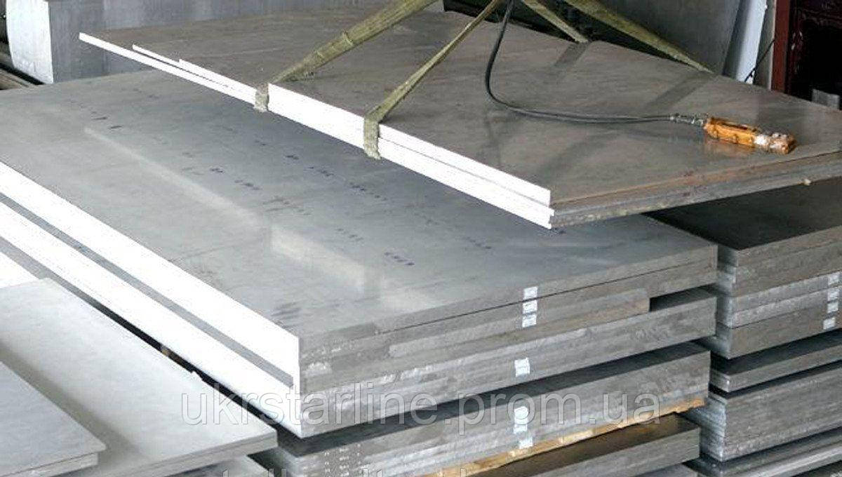 Плита алюминиевая АМГ5 (5083) 40х1540х3048 мм