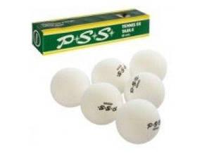 Теннисный шар 40мм. со швом, 6шт. в кор. 24х4х4см. MS 0449 (6/120)