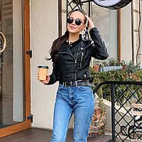 Куртка косуха 8816 черная 42-46