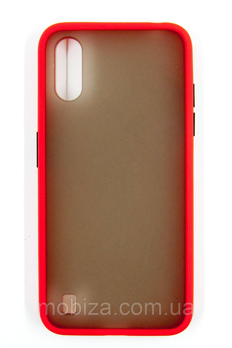 Панель DENGOS Matte для Samsung Galaxy A01 (red)