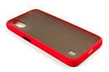 Панель DENGOS Matte для Samsung Galaxy A01 (red), фото 2