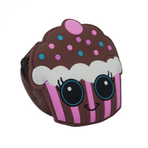 "Брелок - сумочка для девочки ""Пироженое"" (коричневый) AA1761"