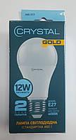 "Стандарт Лампа світлодіодна ""CRYSTAL_Gold"" A60 12Вт 4000K E27 ш.к. 6970506271058"