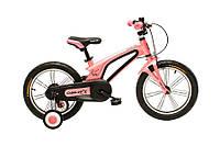 """Велосипед детский для девочек Oskar 16""""-UK601 розовый, фото 1"""