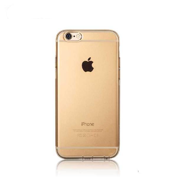 Силіконовий чохол Crystal для iPhone 6/6s золото REMAX 604702