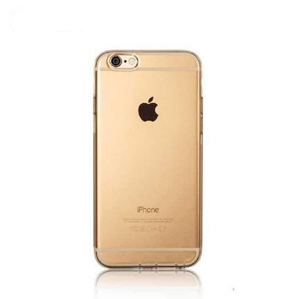 Силіконовий чохол Crystal для iPhone 6/6s золото REMAX 604702, фото 2