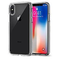 Чехол Crystal iPhone X прозрачный Remax 800101