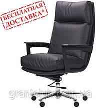 Кресло KENNEDY BLACK черная кожа AMF (бесплатная адресная доставка)