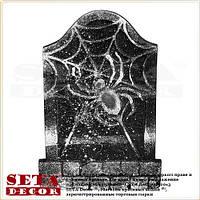 Надгробная плита RIP Паук- карнавальное украшение на Хэллоуин.