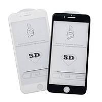 Защитное стекло для Apple iPhone 6 Plus (0.3 мм, 5D белое)
