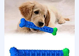 Игрушка для чистки зубов у собак Сhewbrush,Зубная щетка для собак Chewbrush, фото 2