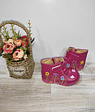 Ботинки на девочку деми ,цвета,размеры 24,25, фото 5