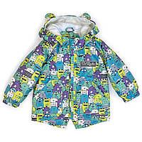 Детская демисезонная куртка-парка «Милые монстрики» ДоРечі