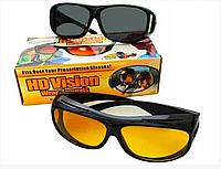 Антибликовые очки для водителя двойные HD-visionWrap Arounds