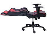 Геймерское кресло VR Racer Shepard черный/красный AMF 515281 (бесплатная адресная доставка), фото 5