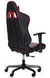 Геймерское кресло VR Racer Shepard черный/красный AMF 515281 (бесплатная адресная доставка), фото 4