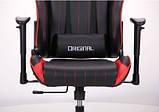 Геймерское кресло VR Racer Shepard черный/красный AMF 515281 (бесплатная адресная доставка), фото 7