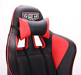 Геймерское кресло VR Racer Shepard черный/красный AMF 515281 (бесплатная адресная доставка), фото 8