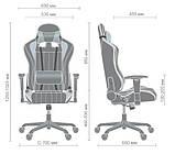 Геймерское кресло VR Racer Shepard черный/красный AMF 515281 (бесплатная адресная доставка), фото 9