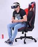 Геймерское кресло VR Racer Shepard черный/красный AMF 515281 (бесплатная адресная доставка), фото 10