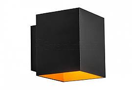 Бра ZUMA LINE 91063 SOLA WL SQUARE BLACK-GOLD