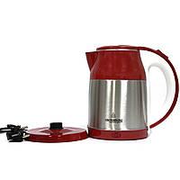 Электрический чайник Crownberg CB 2840 A  2 л  1850 Вт (Красный)