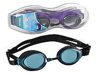 Детские очки для плавания Intex 55691, размер L, (8+), обхват головы ≈ 54 см
