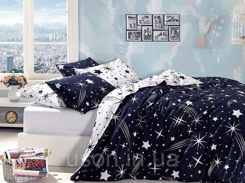 Комплект постільної білизни ТМ First Choice ранфорс Star