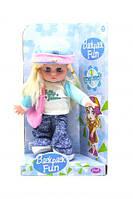 Кукла музыкальная (голубой)  scs