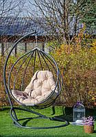"""Подвесное кресло-кокон """"Адель"""" серое, фото 1"""