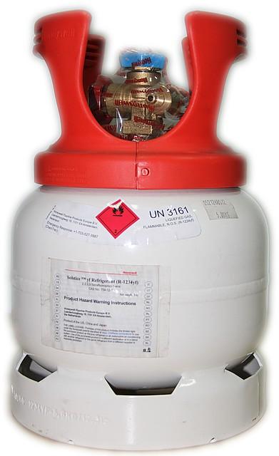 Фреон  R1234yf Honeywell (5 кг./баллон)